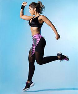 Calça Fitness Pink Style LG239