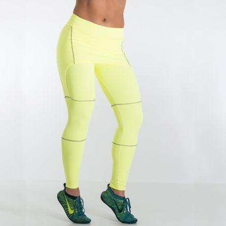 legging-fitness-spider-elite-pro-amarelo