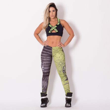 Legging-Fitness-Caveira-Two-Face