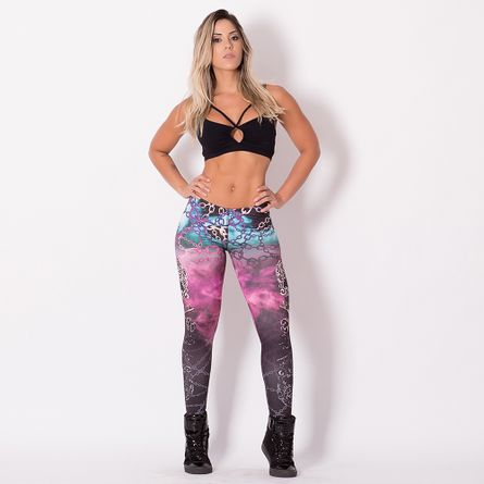 Legging-Fitness-Digital-Caveira-Elos-