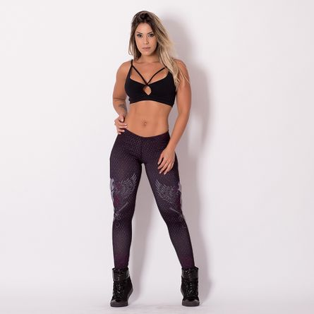 Legging-Fitness-Digital-Skull-Bang