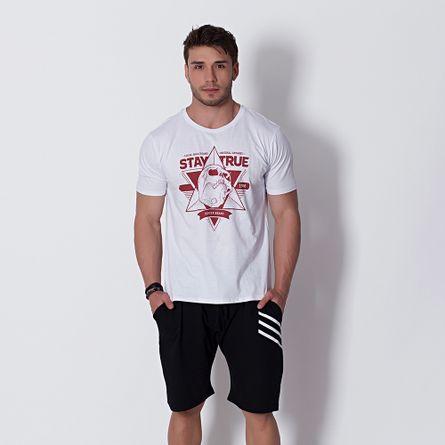Camiseta-Fitness-T-Shirt-Stay-True