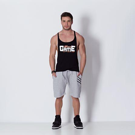 Camiseta-Fitness-Regata-Life-Is-A-Game