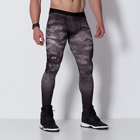 Legging-Fitness-Sublimada-Masculina-Delta-V-Caveira