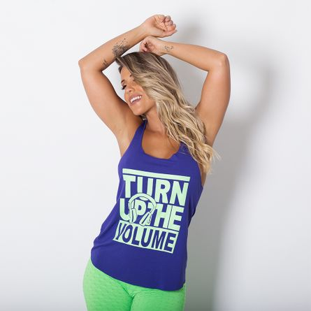 Camiseta-Fitness-Turn-Up-The-Volume