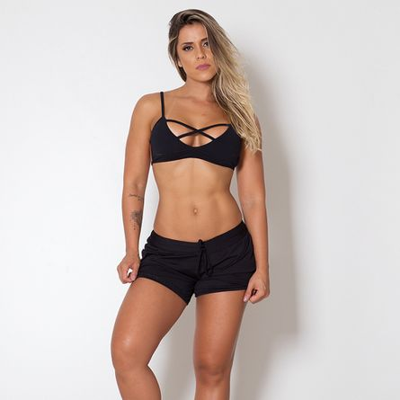 Short-Fitness-Basic-Black
