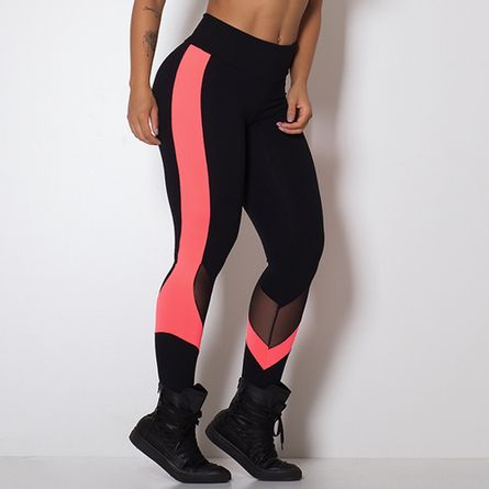 Legging-Fitness-Neo-Orange