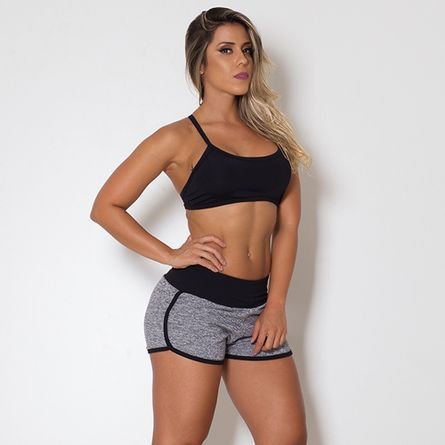 Short-Fitness-Moletinho-Grey