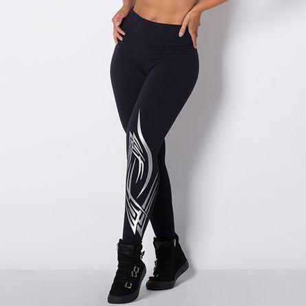 Legging-Fitness-Tribal-Silver