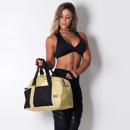 Mochila-Fitness-Shine-Golden