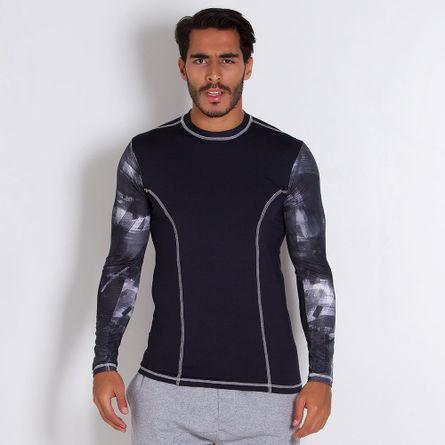 Camisa-Rash-Guard-Manga-Longa-Delta-Branco