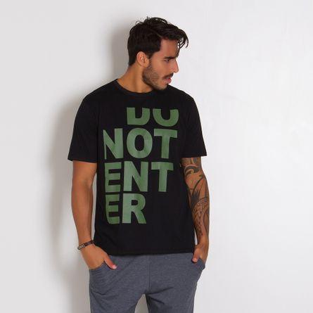 Camiseta-Masculina-Do-Not-Enter