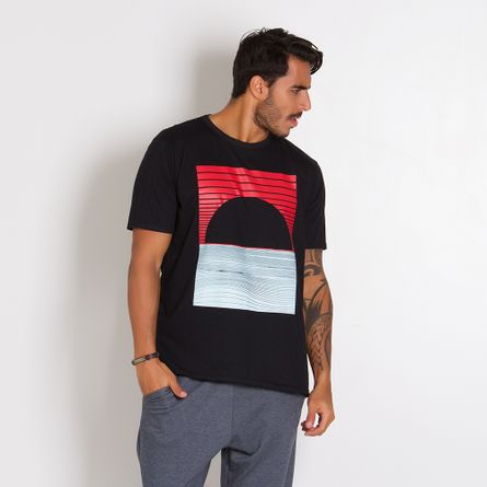 Camiseta-Masculina-Arco-Red