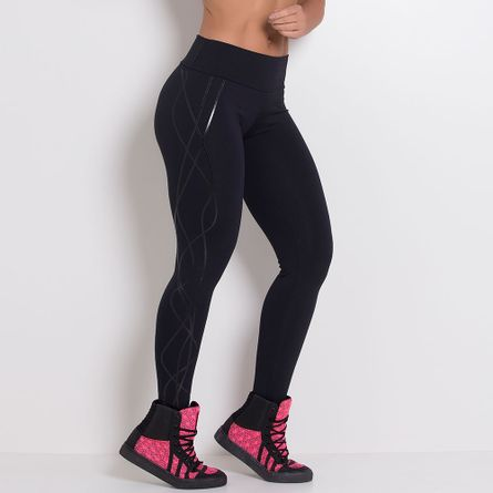 Calca-Fitness-Silk-Linhas