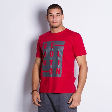 Camiseta-Masculina-Revolution-Red-