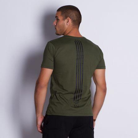 Camiseta-Masculina-New-York-Musgo