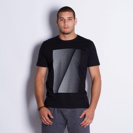 Camiseta-Masculina-Linhas-Black-