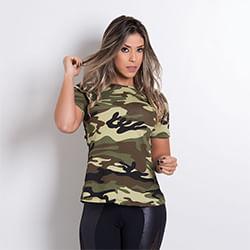 Camiseta Fitness feminina da Honey Be