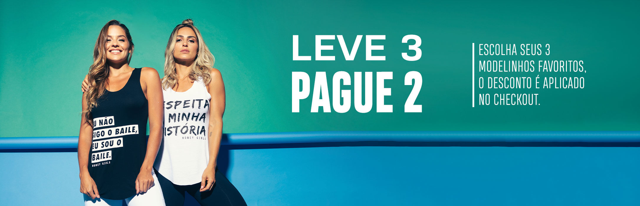 Camisetas - Leve 3 Pague 2