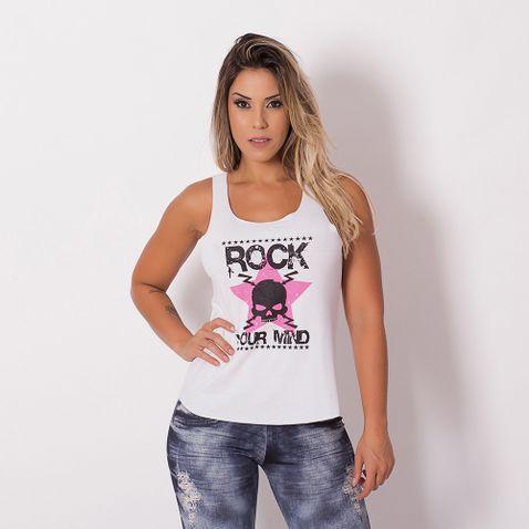 Camiseta-Fitness-Rock-Caveira-