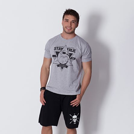 Camiseta-Fitness-T-Shirt-Stay-True-