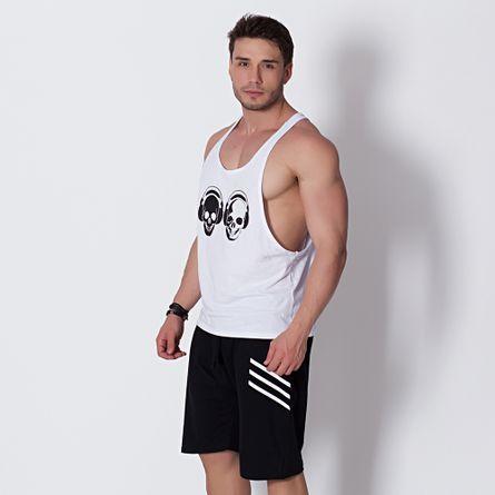 Camiseta-Fitness-Skull-Sound