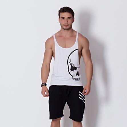 Camiseta-Fitness-Regata-Caveira