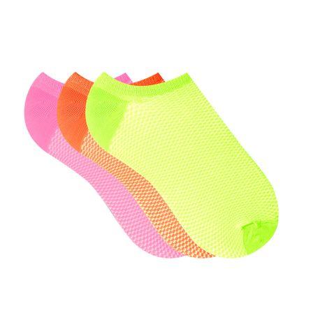 Meia-Invisivel-Microfibra-Neon-