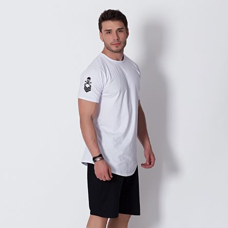 Camiseta-Masculina-Longuete-Caveira