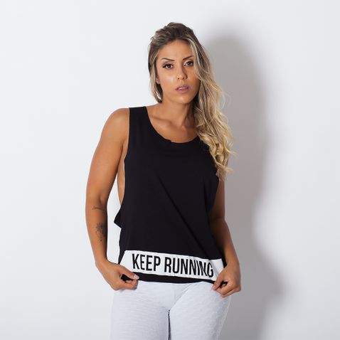 Camiseta-Fitness-Cava-Larga-Keep-Running
