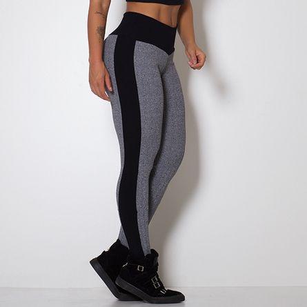 Legging-Fitness-Textura-Mescla-