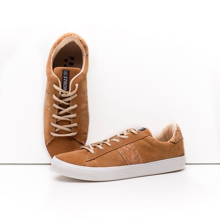 Tenis-HB-Be-Strong-Camurca-Whisky-