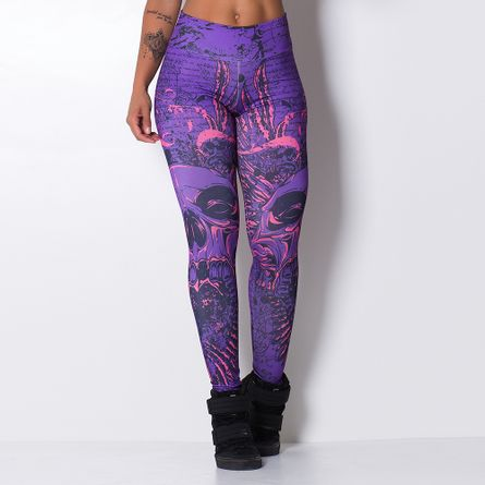 Legging-Fitness-Sublimada-Violet-