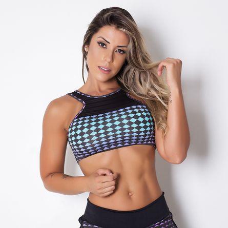 Saia-Short-Fitness-Fashion-Black