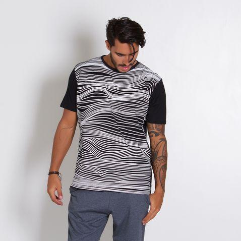 Camiseta-Masculina-Lines