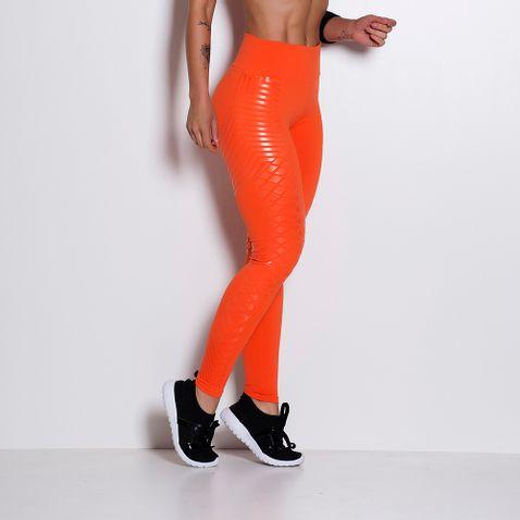 Legging-Fitness-Poliamida-Laranja