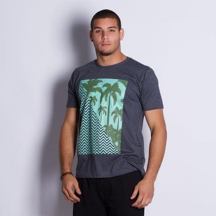 Camiseta-Masculina-Coqueiros-Gray