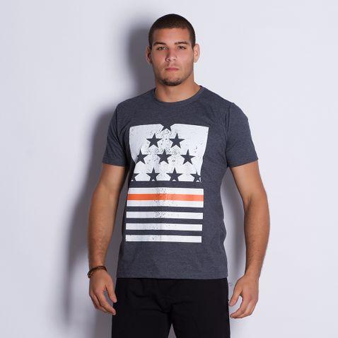 Camiseta-Masculina-Estrelas-Gray-