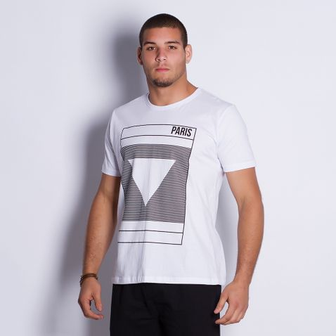 Camiseta-Masculina-Paris-White-