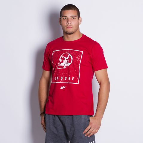 Camiseta-Masculina-Undone-Red-