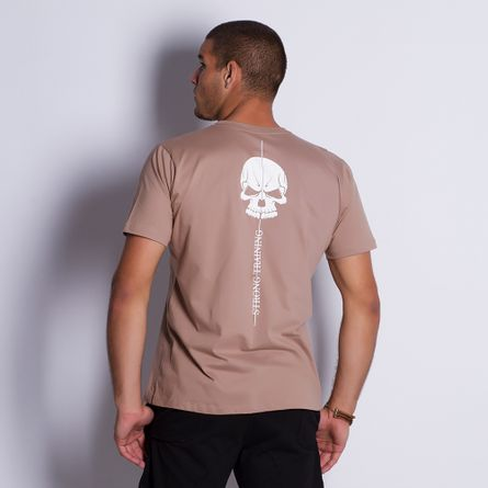 Camiseta-Masculina-Training-Brown