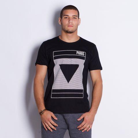 Camiseta-Masculina-Paris-Black-