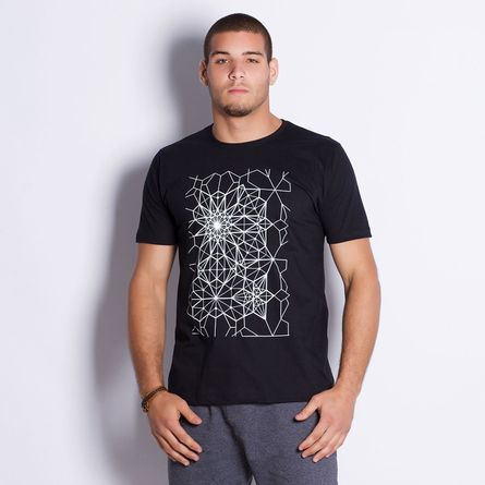 Camiseta-Masculina-Geometric-Pattern-