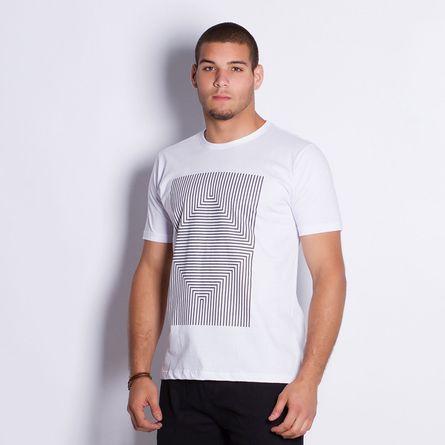 Camiseta-Masculina-Triangle-Lines