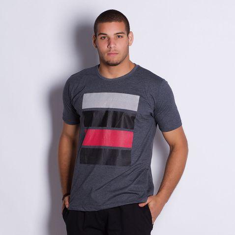 Camiseta-Masculina-Colorful-Bands