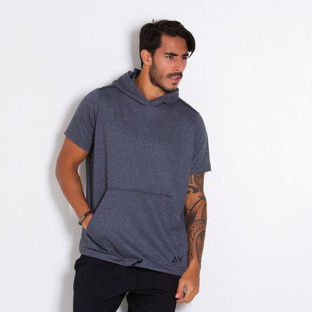 Camiseta-Fitness-Capuz-Light-Gray-Style