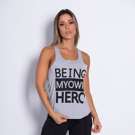 Camiseta-Fitness-Being-My-Own-Hero