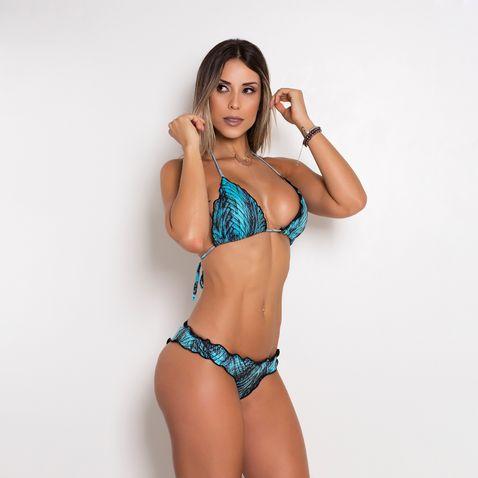 Biquini-Poliamida-Blue