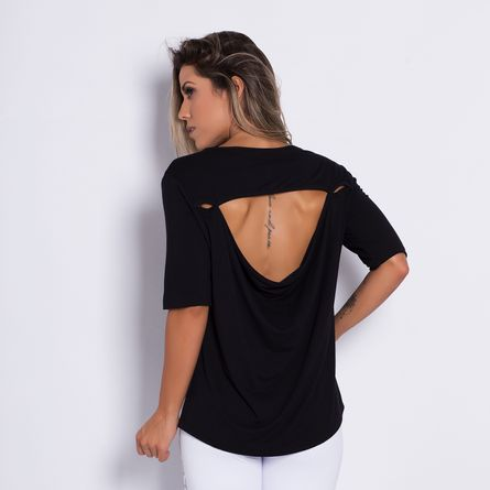 Camisa-Fitness-Costas-Aberta-Black