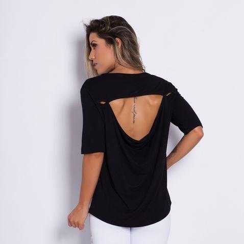 Camisa-Fitness-Costas-Aberta-Black